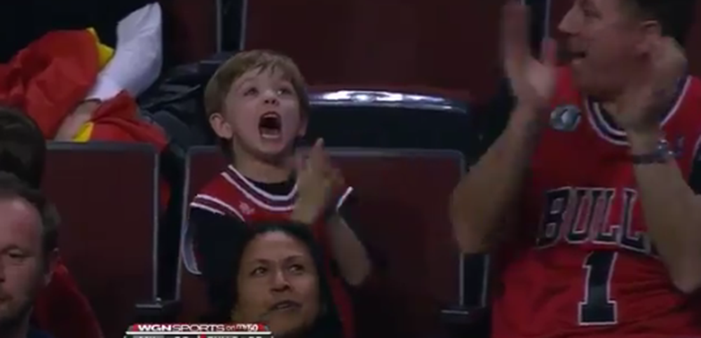Young Bulls Fan Excited About Free Big Macs